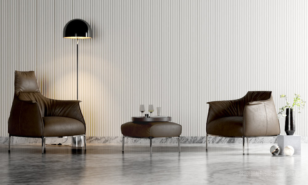 Modern Chair 3D Furniture Rendering