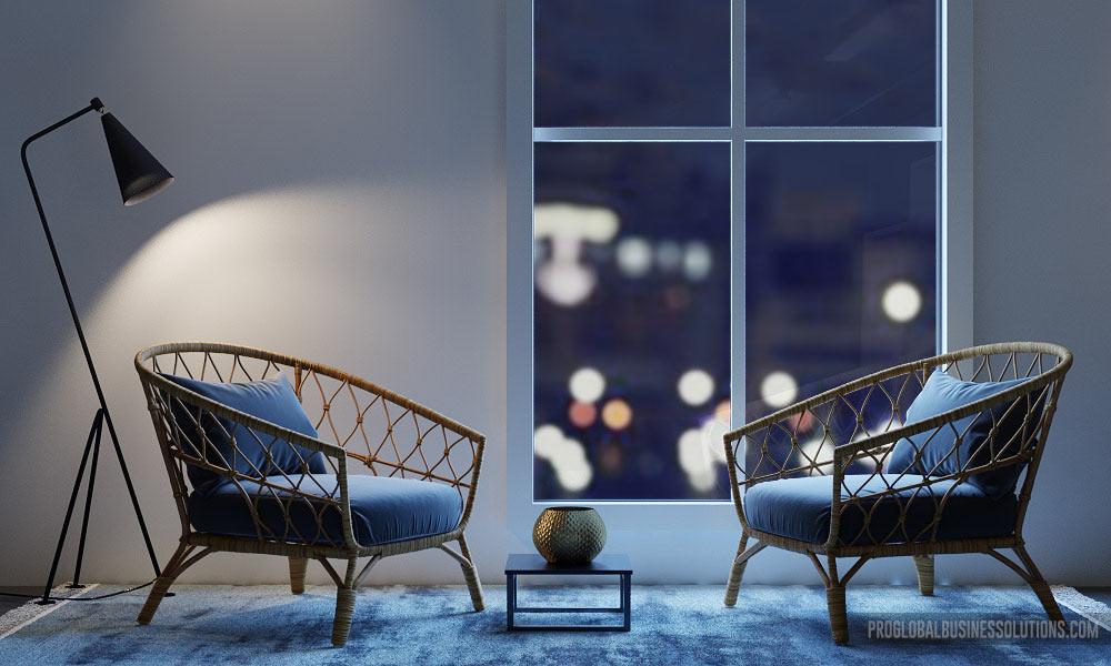 Modern 3D Chair Furniture Design