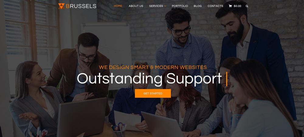 custom website banner design