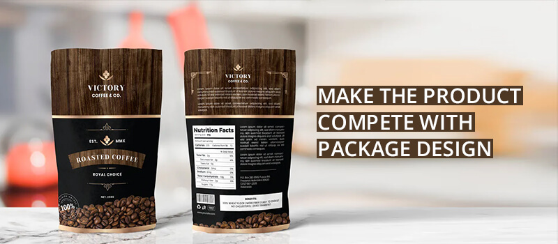 product compete with package design