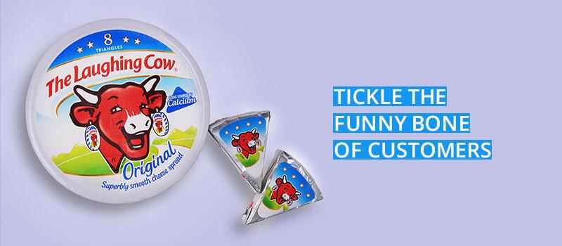 integrate humor in packaging design