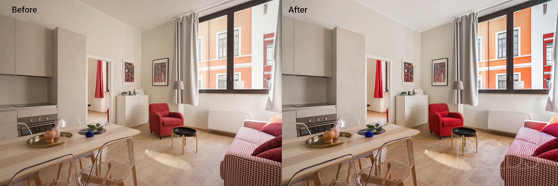 indoor color adjustment