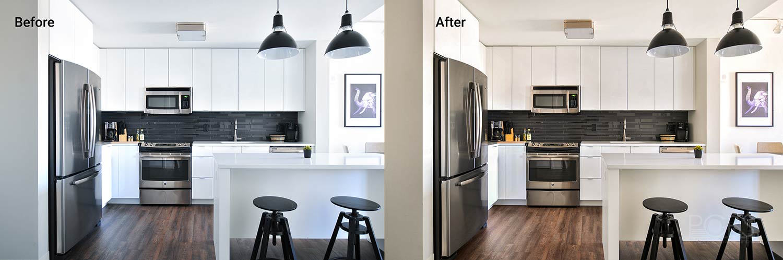 kitchen color adjustment