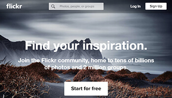 flickr website