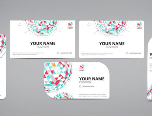 Various Standard Business Card Size in Pixels, Inches, Millimeter