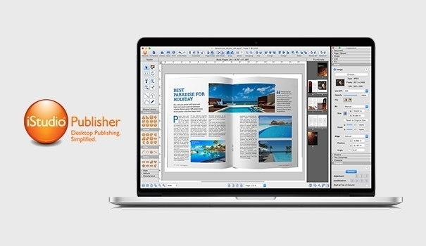 iStudio Publisher page layout maker
