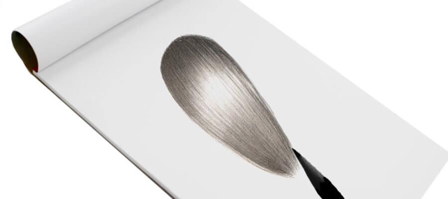 drawing straight hairs