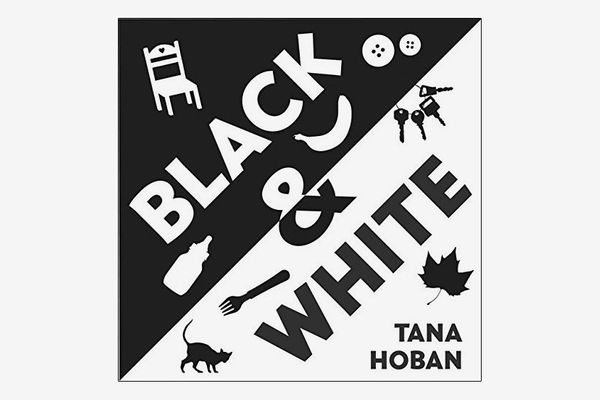 black and white book by tana hoban