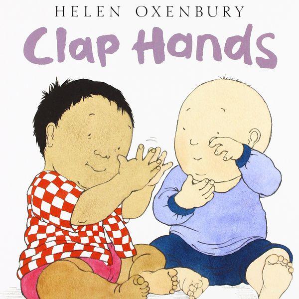 clap hands book by Helen Oxenbury