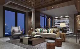 villa interior 3d modeling