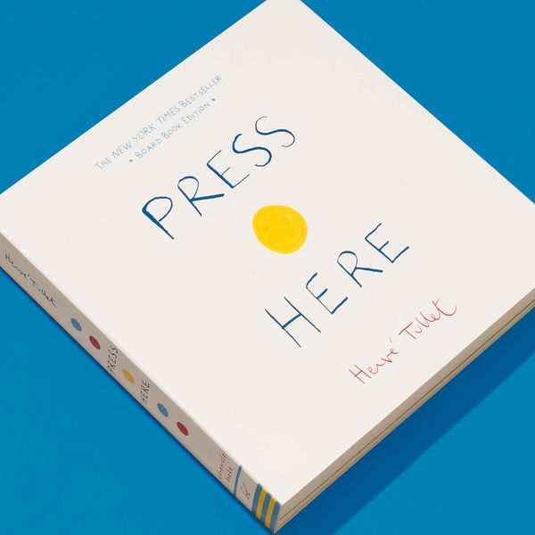 Press Here Book by Hervé Tullet