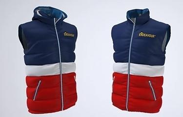 apparel 3d rendering