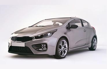 car 3d rendering