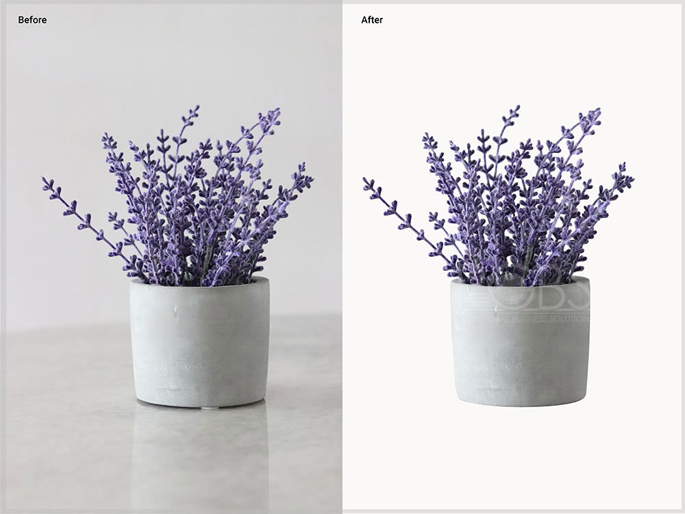 product transparent background editing
