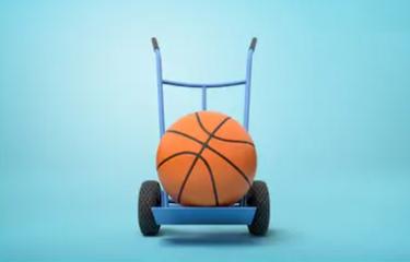 sport equipment 3d rendering
