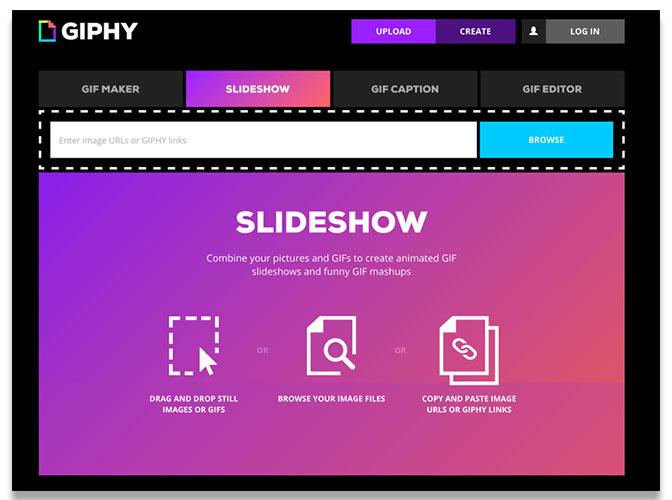 giphy slideshow